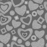 Valentine day seamless background pattern stock photos
