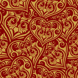 Valentine day seamless pattern Royalty Free Stock Photos