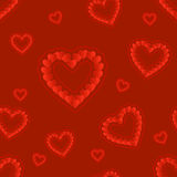 Valentine day. seamless pattern Stock Photography