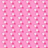 Valentine day seamless pattern. illustration Royalty Free Stock Photo
