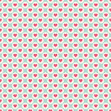 Valentine day seamless pattern. Vector illustration Stock Photography