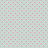 Valentine day seamless pattern. Vector illustration Royalty Free Stock Photo