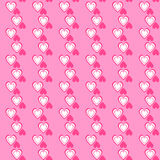 Valentine day seamless pattern. Vector illustration Royalty Free Stock Photos