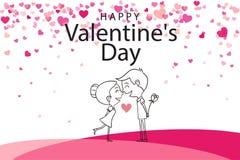 Valentine Day Special Event ilustração royalty free