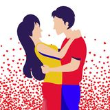 Valentine Day Special Illustration illustration de vecteur