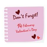 Valentine Day Stick Imagen de archivo