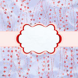 Valentine day with stylish colorful hearts. EPS 8 Stock Images