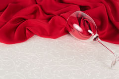 Valentine Day table setting Stock Photography