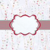 Valentine day template with colorful hearts. EPS 8. Valentine day template with stylish colorful hearts. And also includes EPS 8 Royalty Free Stock Images