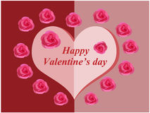 Valentine day vector Stock Photo