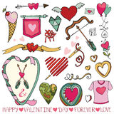 Valentine day,wedding frame,hearts,decor element Stock Photo