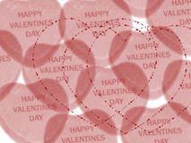 Valentine day wish Stock Images
