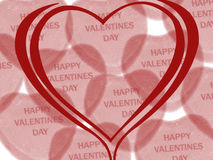 Valentine day wish Royalty Free Stock Images