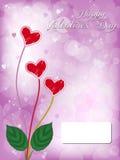 Valentine dayhearts Royalty Free Stock Photography