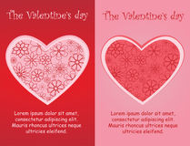The Valentine days Stock Photography