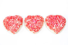 valentine de biscuits Photo stock
