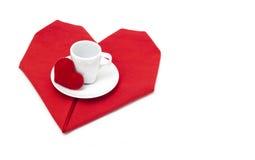 Valentine de café Image stock