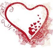 valentine de carte Images stock