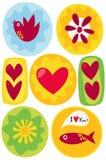 valentine de carte Image stock