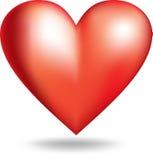 valentine de coeur Image libre de droits