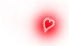 valentine de coeurs Image libre de droits