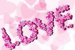 valentine de fond Photo stock