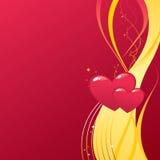 valentine de fond Photo libre de droits