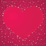 valentine de fond Illustration de Vecteur
