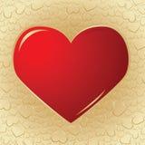 valentine de fond illustration libre de droits