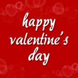 Valentine-de kaart van de daggroet voor minnaar Royalty-vrije Stock Foto's