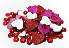 valentine de la sucrerie s image stock