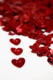valentine de rue des coeurs s photo stock