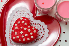 Valentine Decorated Cookies Royalty Free Stock Image