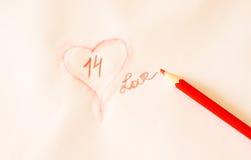 Valentine-decoratie Royalty-vrije Stock Foto's
