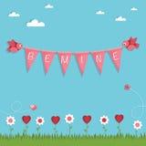 Valentine-decoratie Stock Foto's