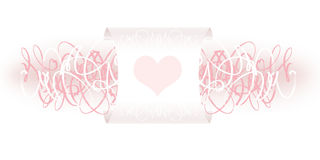 Valentine decoration Stock Images