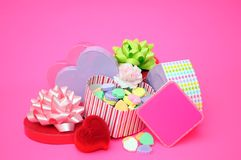 Valentine decoration Stock Photography