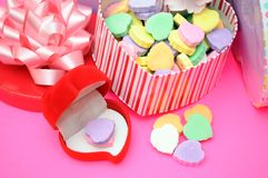 Valentine decoration Stock Photos