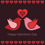 Valentine decoration Stock Images