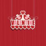 Valentine decoration Stock Image