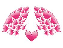 Valentine decorative element Stock Image