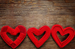 valentine des coeurs s de jour de fond Photographie stock