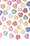 valentine des coeurs s de jour de sucrerie Photographie stock