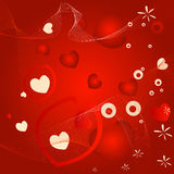 Valentine design Stock Images