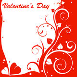 Valentine design card Stock Photo