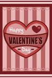 Valentine design Royalty Free Stock Photography
