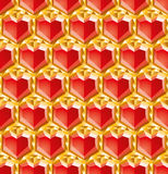 Valentine diamonds Royalty Free Stock Photos