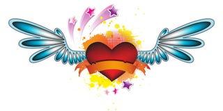 Valentine Disco Heart Stock Photography
