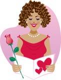 Valentine doux Photo libre de droits