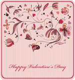 Valentine drawing. Lovely valentine drawing Royalty Free Stock Images